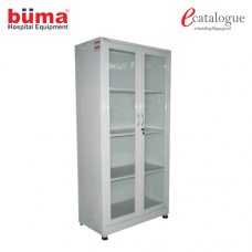 Instrument Cabinet Double Door Swing
