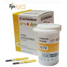AUTOCHECK - Total Cholesterol Test Strip