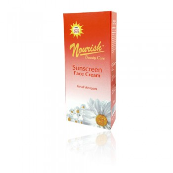 Nourish Beauty Care (NBC) Sunscreen Face Cream